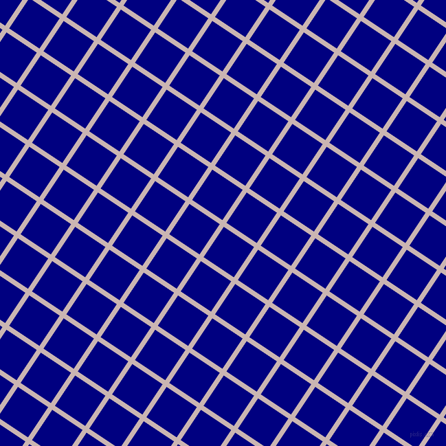 56/146 degree angle diagonal checkered chequered lines, 7 pixel lines width, 53 pixel square size, plaid checkered seamless tileable