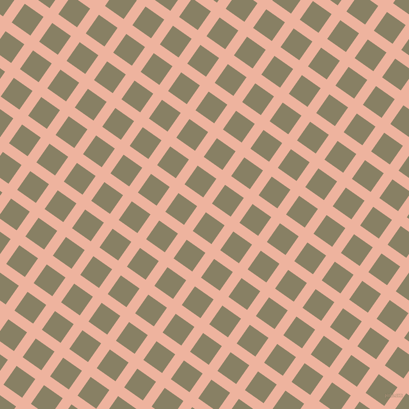55/145 degree angle diagonal checkered chequered lines, 21 pixel lines width, 45 pixel square size, plaid checkered seamless tileable