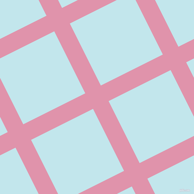 27/117 degree angle diagonal checkered chequered lines, 61 pixel line width, 243 pixel square size, plaid checkered seamless tileable