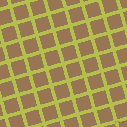 16/106 degree angle diagonal checkered chequered lines, 12 pixel line width, 46 pixel square size, plaid checkered seamless tileable