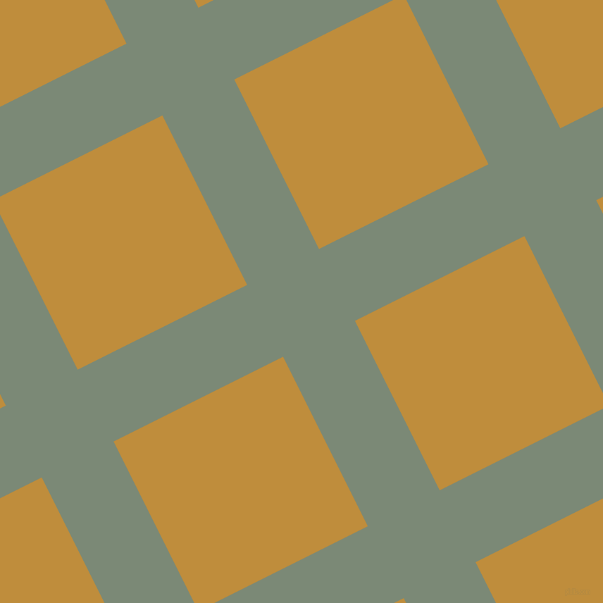 27/117 degree angle diagonal checkered chequered lines, 114 pixel lines width, 269 pixel square size, plaid checkered seamless tileable