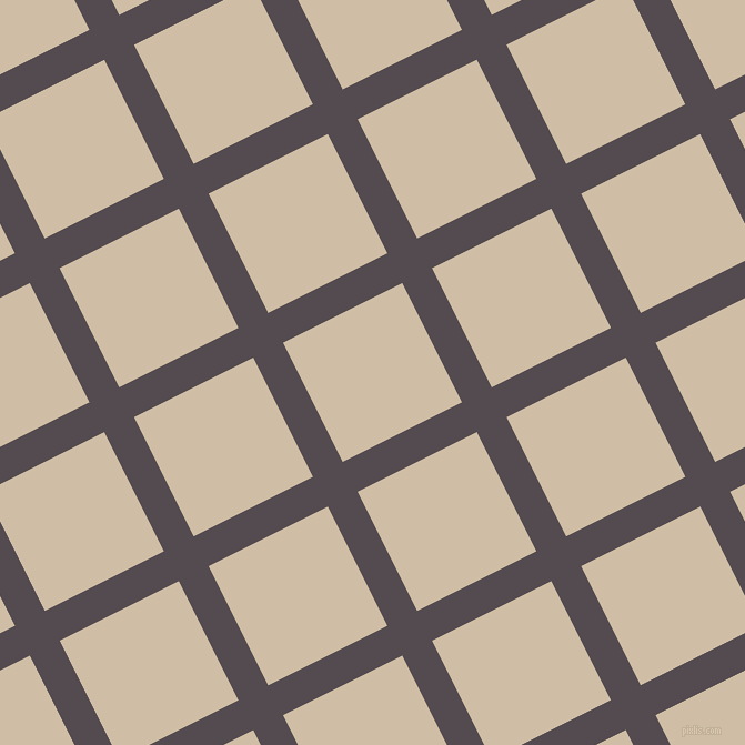 27/117 degree angle diagonal checkered chequered lines, 30 pixel lines width, 120 pixel square size, plaid checkered seamless tileable