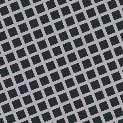 22/112 degree angle diagonal checkered chequered lines, 11 pixel lines width, 29 pixel square size, plaid checkered seamless tileable