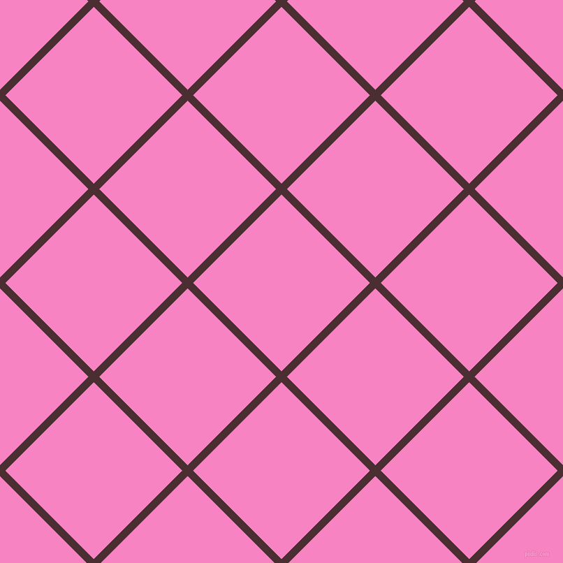 45/135 degree angle diagonal checkered chequered lines, 11 pixel lines width, 179 pixel square size, plaid checkered seamless tileable