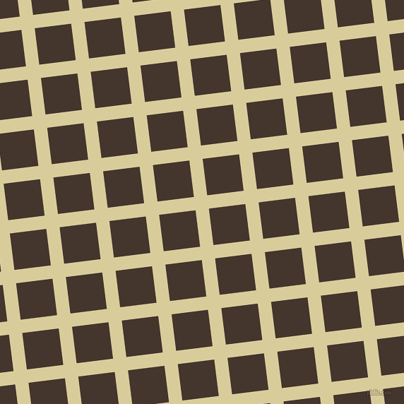 7/97 degree angle diagonal checkered chequered lines, 19 pixel line width, 52 pixel square size, plaid checkered seamless tileable
