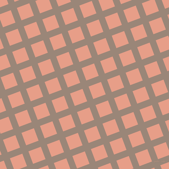 21/111 degree angle diagonal checkered chequered lines, 21 pixel lines width, 43 pixel square size, plaid checkered seamless tileable