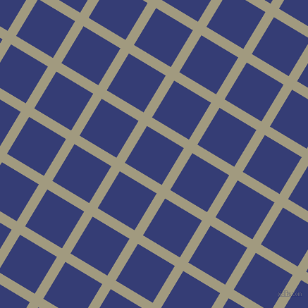 59/149 degree angle diagonal checkered chequered lines, 14 pixel line width, 61 pixel square size, plaid checkered seamless tileable