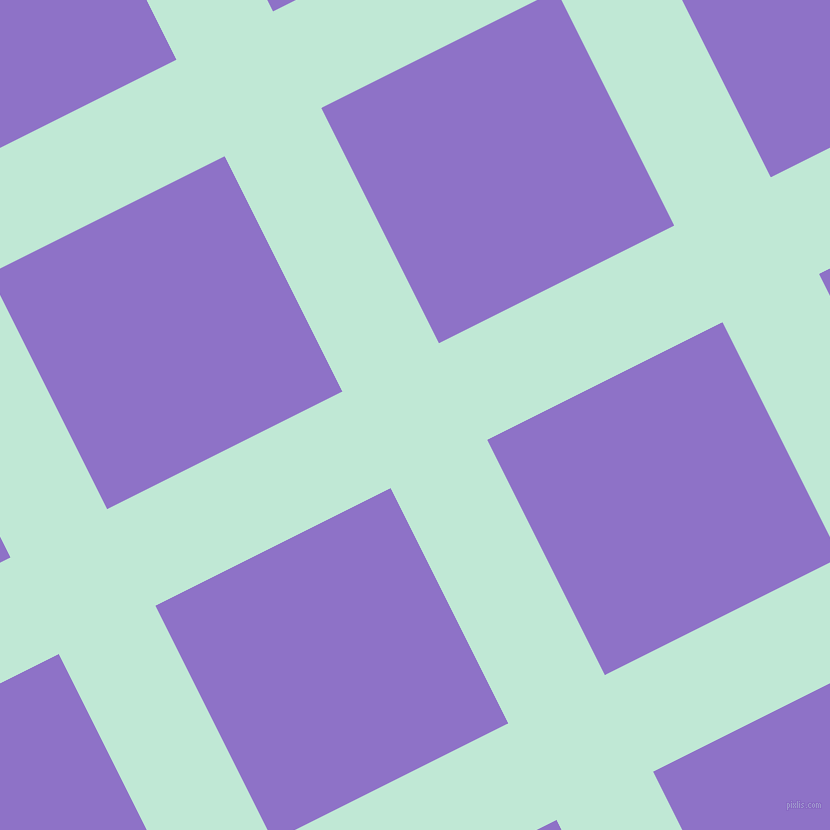 27/117 degree angle diagonal checkered chequered lines, 108 pixel lines width, 263 pixel square size, plaid checkered seamless tileable