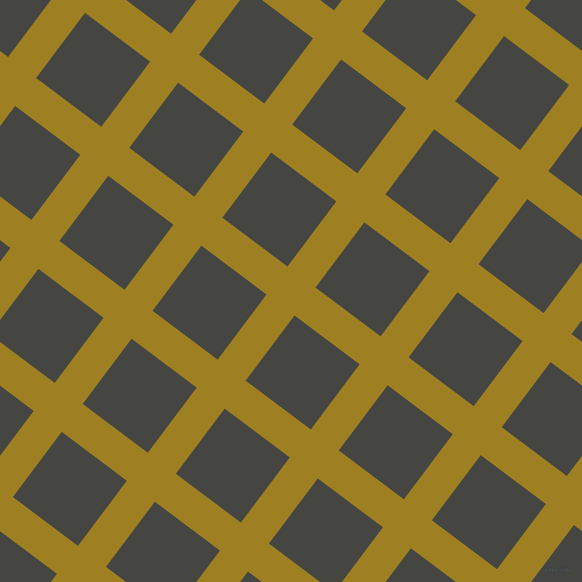 53/143 degree angle diagonal checkered chequered lines, 49 pixel line width, 114 pixel square size, plaid checkered seamless tileable