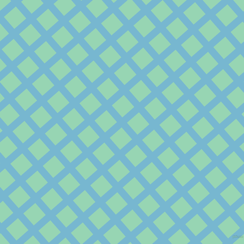 41/131 degree angle diagonal checkered chequered lines, 24 pixel lines width, 54 pixel square size, plaid checkered seamless tileable