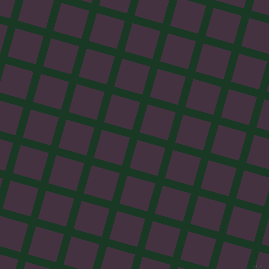 74/164 degree angle diagonal checkered chequered lines, 26 pixel line width, 97 pixel square size, plaid checkered seamless tileable