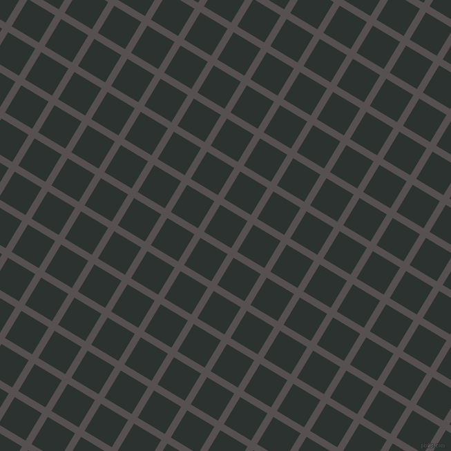 59/149 degree angle diagonal checkered chequered lines, 10 pixel line width, 46 pixel square size, plaid checkered seamless tileable