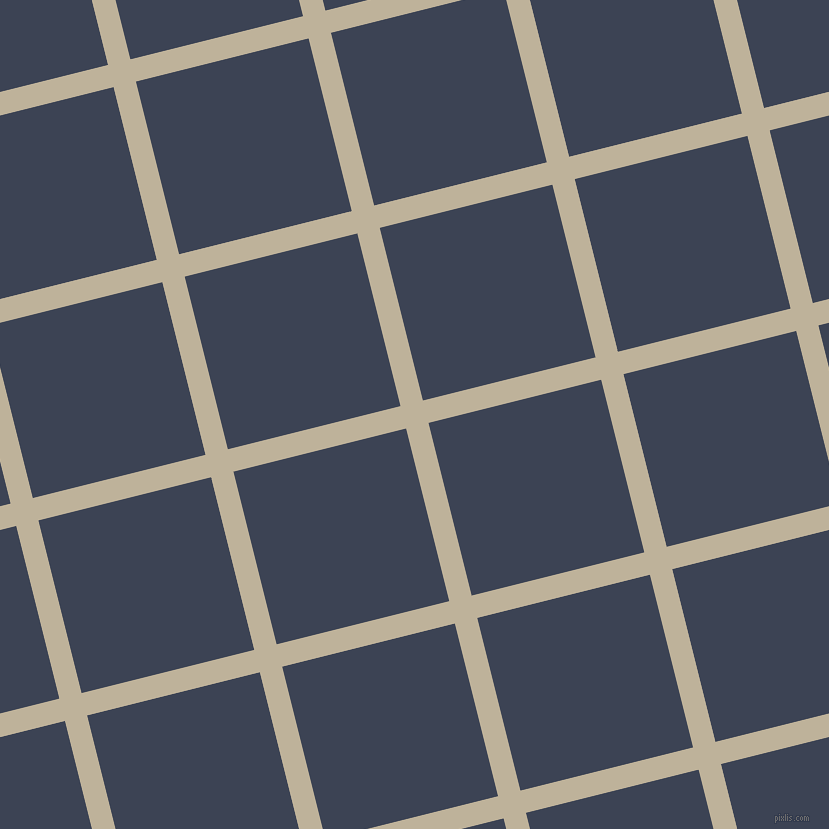 14/104 degree angle diagonal checkered chequered lines, 23 pixel lines width, 178 pixel square size, Akaroa and Blue Zodiac plaid checkered seamless tileable