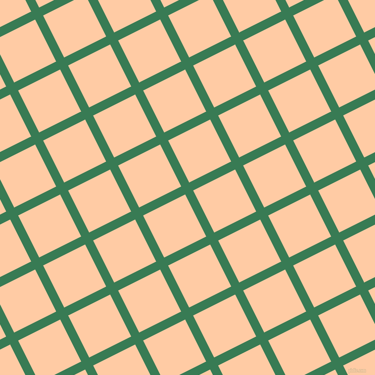 27/117 degree angle diagonal checkered chequered lines, 18 pixel line width, 95 pixel square size, Amazon and Peach plaid checkered seamless tileable