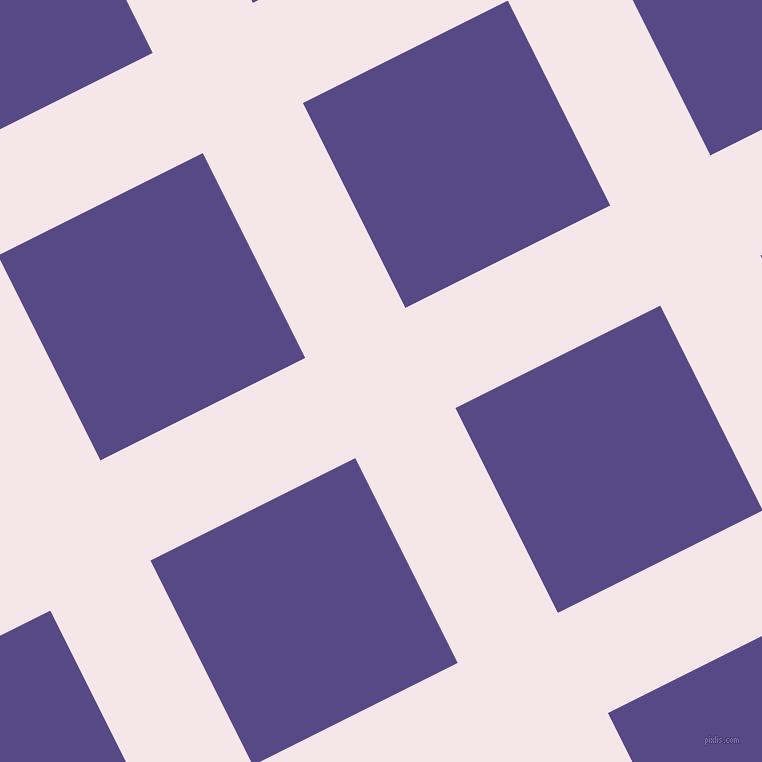 27/117 degree angle diagonal checkered chequered lines, 112 pixel lines width, 229 pixel square size, Amour and Victoria plaid checkered seamless tileable