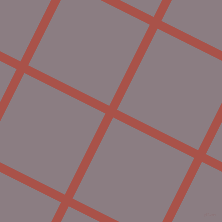 63/153 degree angle diagonal checkered chequered lines, 28 pixel line width, 295 pixel square size, Apple Blossom and Venus plaid checkered seamless tileable
