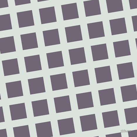 9/99 degree angle diagonal checkered chequered lines, 24 pixel lines width, 53 pixel square size, Aqua Squeeze and Rum plaid checkered seamless tileable