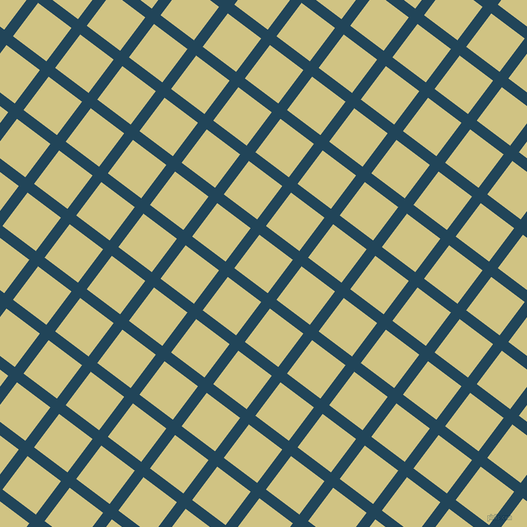 53/143 degree angle diagonal checkered chequered lines, 16 pixel line width, 61 pixel square size, Astronaut Blue and Winter Hazel plaid checkered seamless tileable