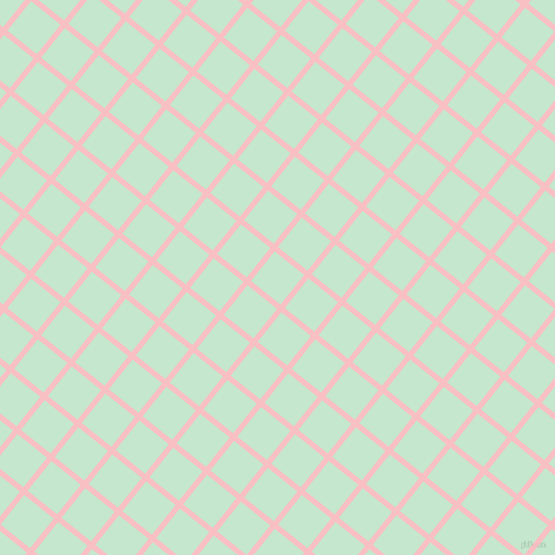 51/141 degree angle diagonal checkered chequered lines, 8 pixel line width, 55 pixel square size, Azalea and Granny Apple plaid checkered seamless tileable
