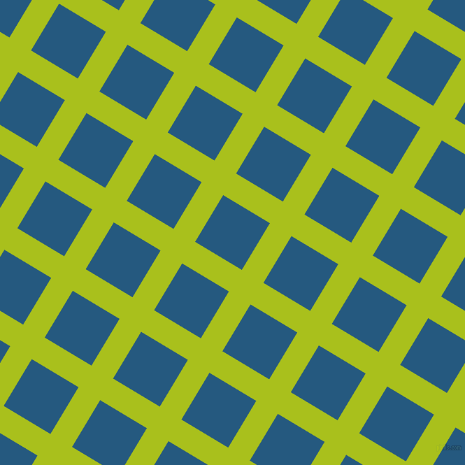 59/149 degree angle diagonal checkered chequered lines, 36 pixel line width, 78 pixel square size, Bahia and Bahama Blue plaid checkered seamless tileable