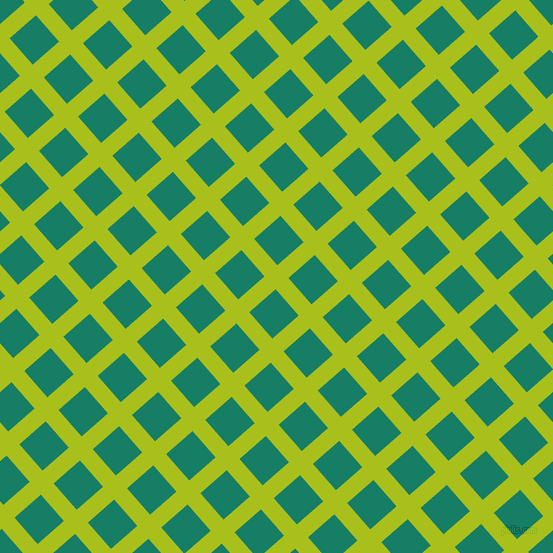 41/131 degree angle diagonal checkered chequered lines, 17 pixel line width, 35 pixel square size, Bahia and Deep Sea plaid checkered seamless tileable