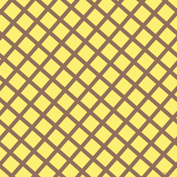 49/139 degree angle diagonal checkered chequered lines, 13 pixel lines width, 42 pixel square size, Beaver and Witch Haze plaid checkered seamless tileable