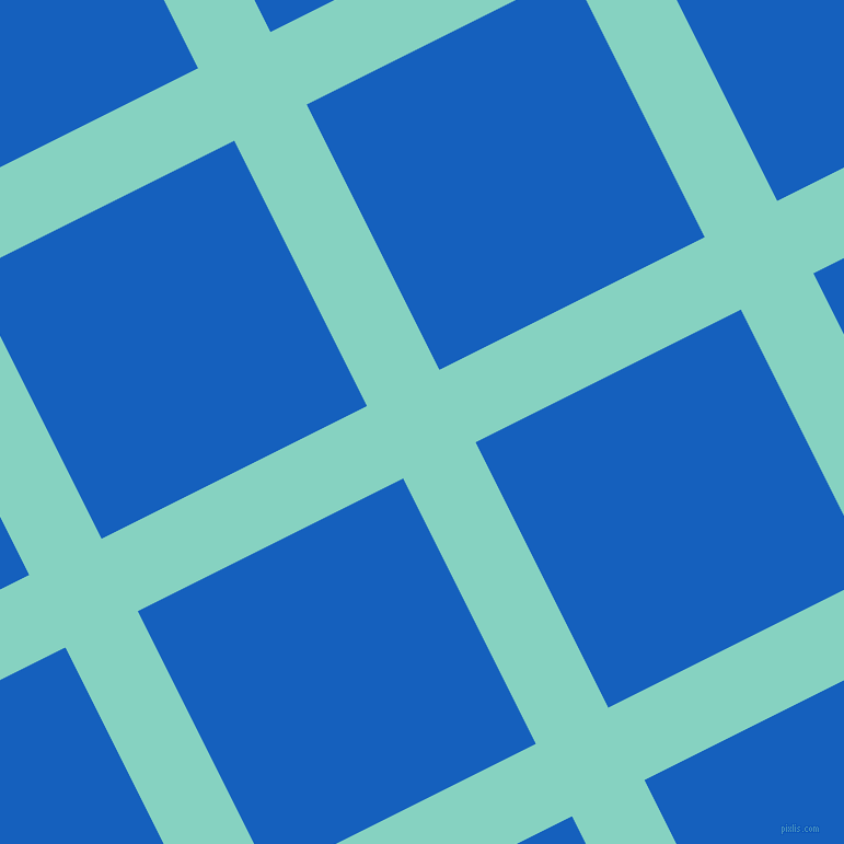 27/117 degree angle diagonal checkered chequered lines, 74 pixel lines width, 271 pixel square size, Bermuda and Denim plaid checkered seamless tileable