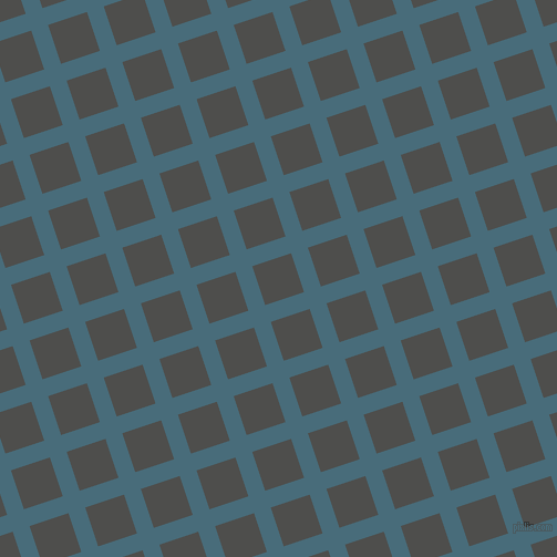18/108 degree angle diagonal checkered chequered lines, 16 pixel lines width, 37 pixel square size, Bismark and Ship Grey plaid checkered seamless tileable