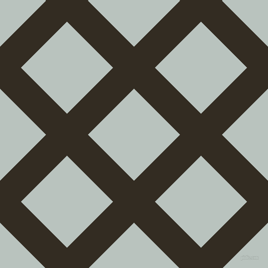 45/135 degree angle diagonal checkered chequered lines, 60 pixel line width, 132 pixel square size, Black Magic and Tiara plaid checkered seamless tileable