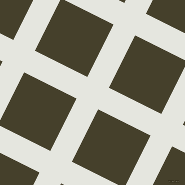 63/153 degree angle diagonal checkered chequered lines, 78 pixel lines width, 189 pixel square size, Black Squeeze and Woodrush plaid checkered seamless tileable