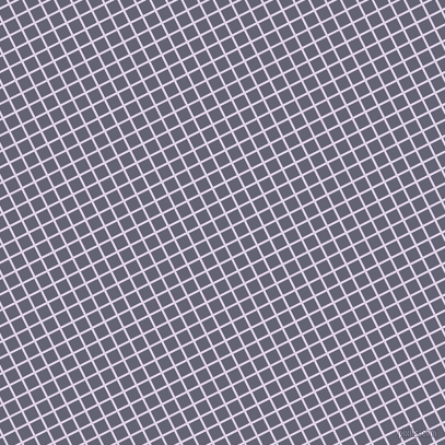 27/117 degree angle diagonal checkered chequered lines, 2 pixel line width, 11 pixel square size, Blue Chalk and Comet plaid checkered seamless tileable