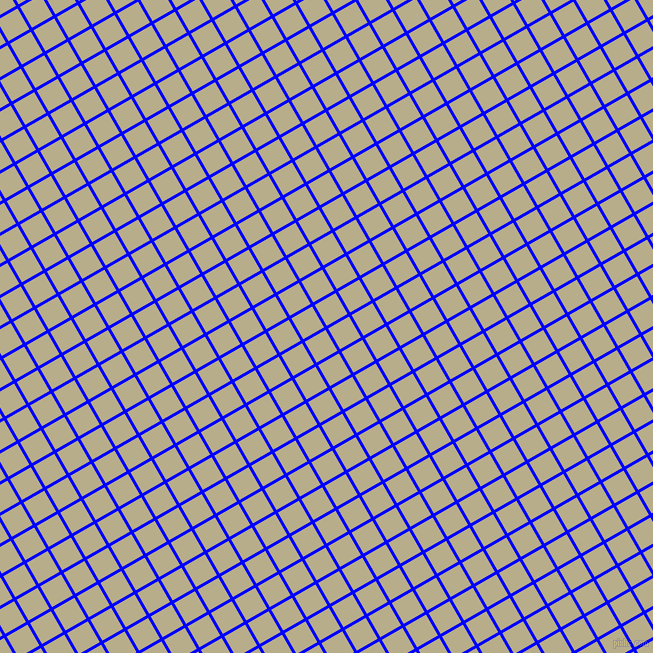 30/120 degree angle diagonal checkered chequered lines, 3 pixel lines width, 24 pixel square size, Blue and Chino plaid checkered seamless tileable