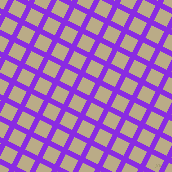 63/153 degree angle diagonal checkered chequered lines, 17 pixel lines width, 45 pixel square size, Blue Violet and Pavlova plaid checkered seamless tileable
