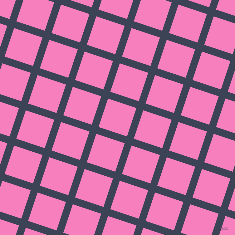 72/162 degree angle diagonal checkered chequered lines, 23 pixel line width, 96 pixel square size, Blue Zodiac and Persian Pink plaid checkered seamless tileable