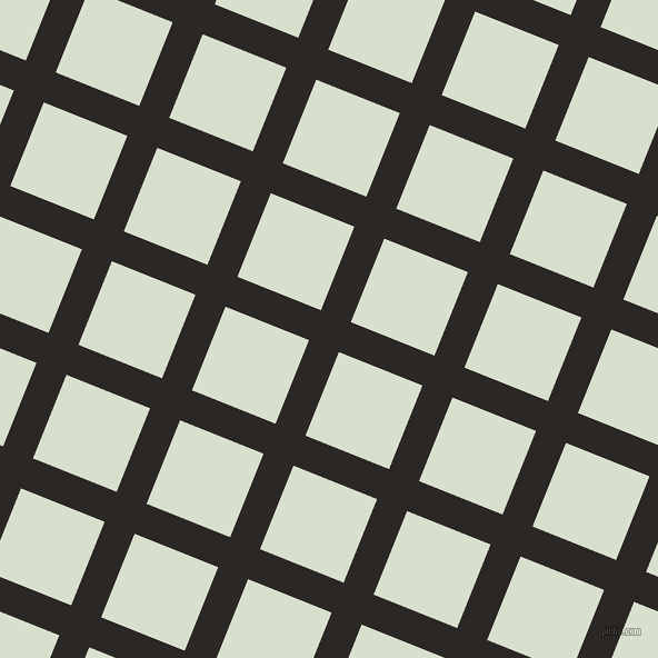 68/158 degree angle diagonal checkered chequered lines, 29 pixel lines width, 81 pixel square size, Bokara Grey and Gin plaid checkered seamless tileable