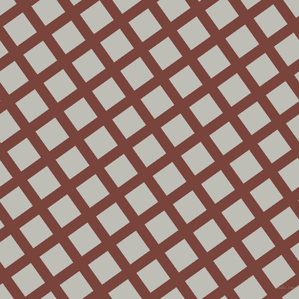36/126 degree angle diagonal checkered chequered lines, 21 pixel line width, 49 pixel square size, Bole and Silver Sand plaid checkered seamless tileable