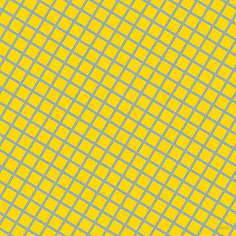 59/149 degree angle diagonal checkered chequered lines, 8 pixel lines width, 35 pixel square size, Botticelli and School Bus Yellow plaid checkered seamless tileable