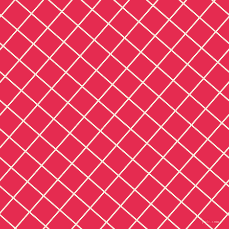 49/139 degree angle diagonal checkered chequered lines, 3 pixel line width, 41 pixel square size, Bridal Heath and Amaranth plaid checkered seamless tileable