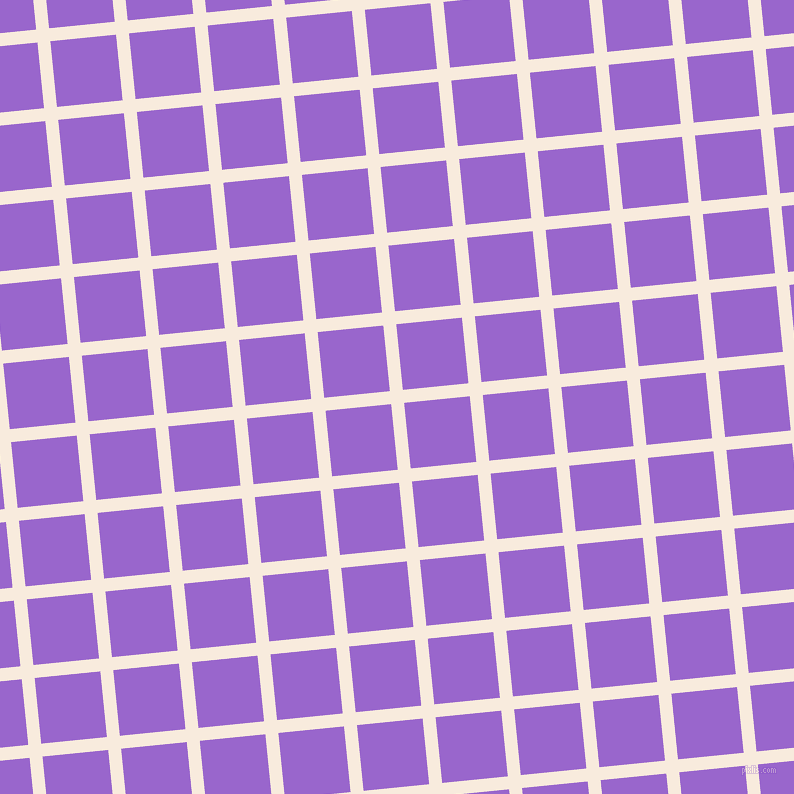 6/96 degree angle diagonal checkered chequered lines, 13 pixel lines width, 66 pixel square size, Bridal Heath and Amethyst plaid checkered seamless tileable