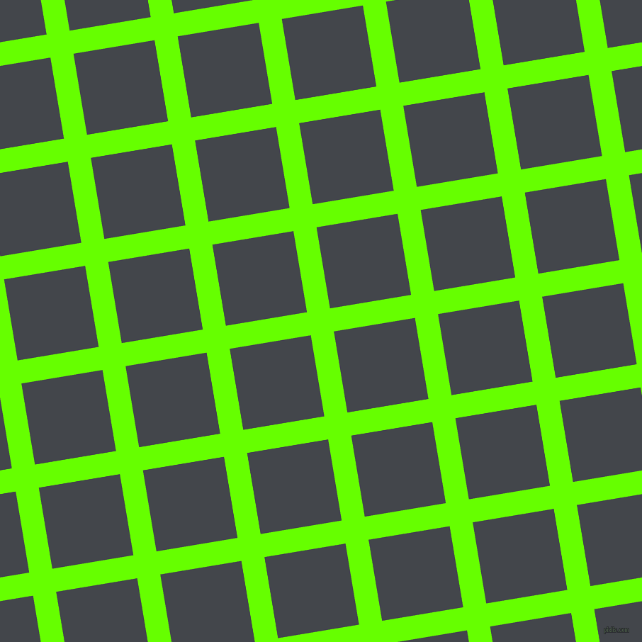 9/99 degree angle diagonal checkered chequered lines, 33 pixel line width, 116 pixel square size, Bright Green and Steel Grey plaid checkered seamless tileable