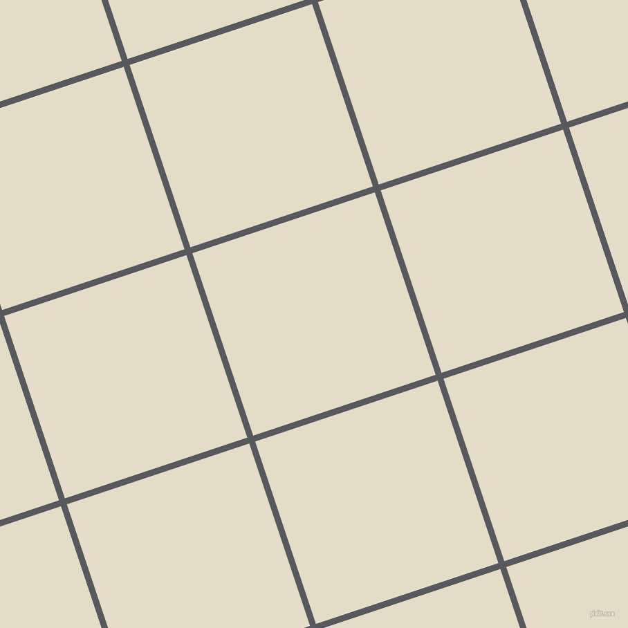 18/108 degree angle diagonal checkered chequered lines, 9 pixel line width, 278 pixel square size, Bright Grey and Half Spanish White plaid checkered seamless tileable