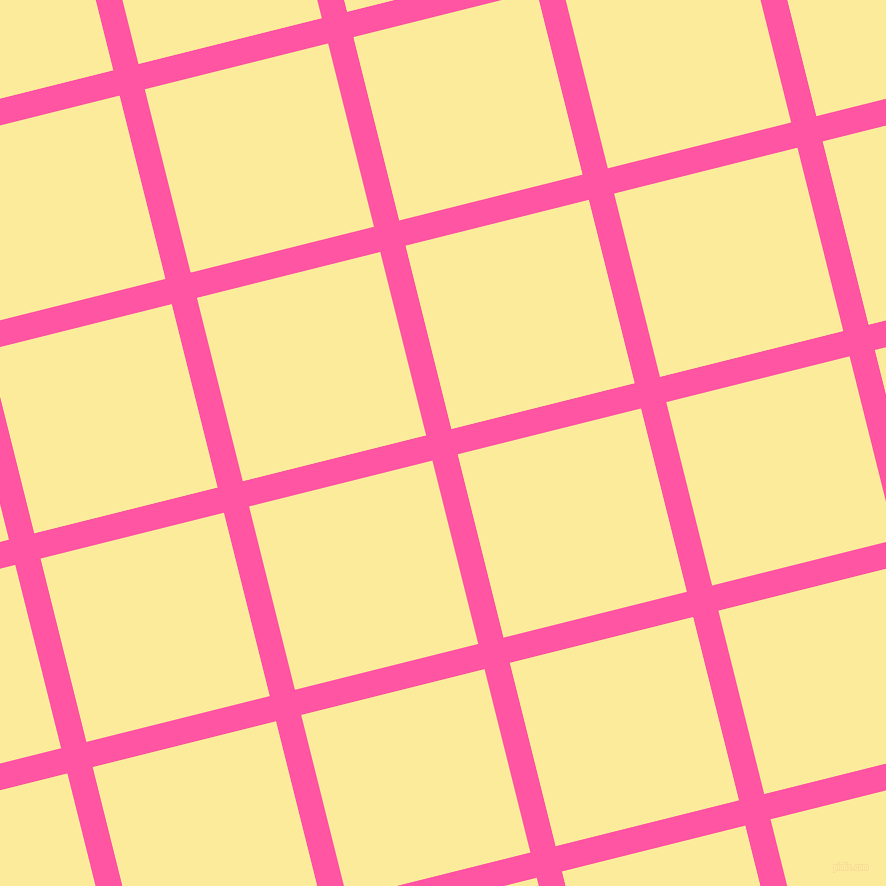 14/104 degree angle diagonal checkered chequered lines, 26 pixel lines width, 189 pixel square size, Brilliant Rose and Drover plaid checkered seamless tileable