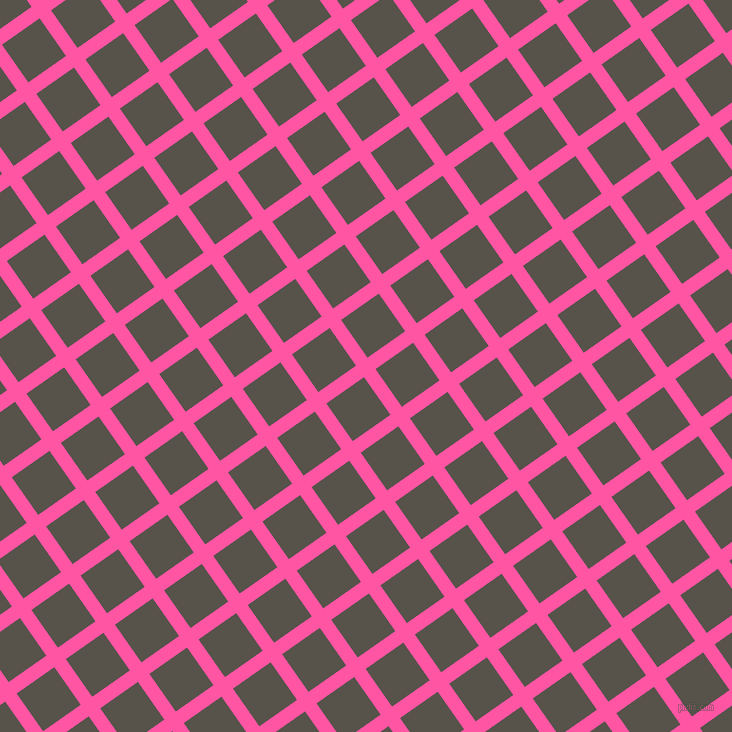 35/125 degree angle diagonal checkered chequered lines, 14 pixel lines width, 46 pixel square size, Brilliant Rose and Masala plaid checkered seamless tileable