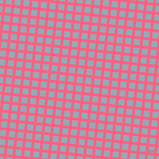 84/174 degree angle diagonal checkered chequered lines, 9 pixel lines width, 20 pixel square size, Brink Pink and Nepal plaid checkered seamless tileable