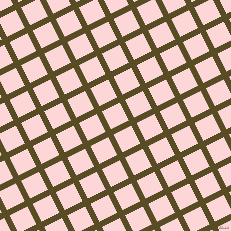 27/117 degree angle diagonal checkered chequered lines, 20 pixel lines width, 68 pixel square size, Bronze Olive and We Peep plaid checkered seamless tileable