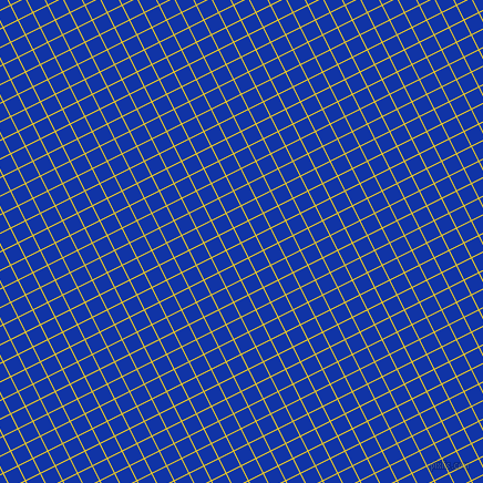 27/117 degree angle diagonal checkered chequered lines, 1 pixel line width, 14 pixel square sizeBroom and Egyptian Blue plaid checkered seamless tileable