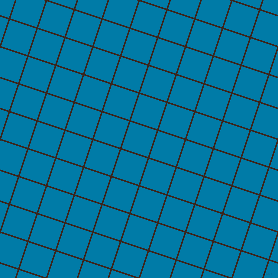 72/162 degree angle diagonal checkered chequered lines, 5 pixel lines width, 92 pixel square size, Brown Pod and Cerulean plaid checkered seamless tileable