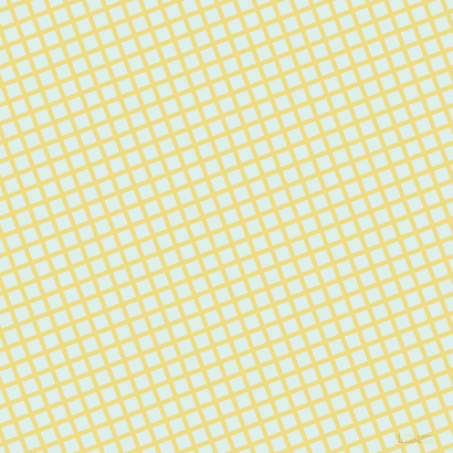 21/111 degree angle diagonal checkered chequered lines, 4 pixel line width, 12 pixel square size, Buff and Clear Day plaid checkered seamless tileable