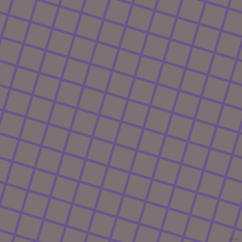 73/163 degree angle diagonal checkered chequered lines, 9 pixel line width, 71 pixel square size, Butterfly Bush and Empress plaid checkered seamless tileable