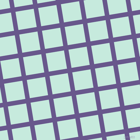 9/99 degree angle diagonal checkered chequered lines, 15 pixel line width, 61 pixel square size, Butterfly Bush and Mint Tulip plaid checkered seamless tileable